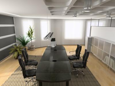 Office Interior Design on Verlichting In Het Kantoor