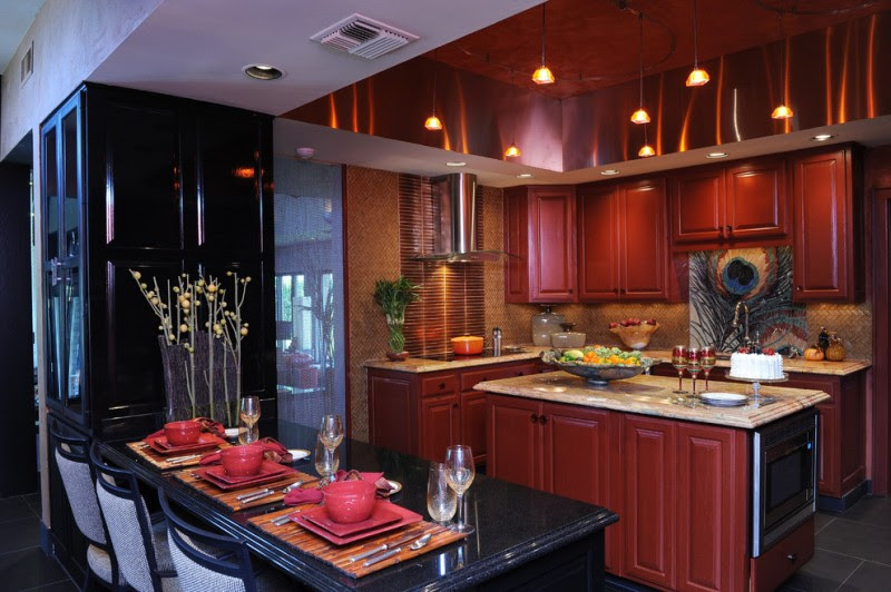 Enchanting Red And Black Kitchen Ideas You Need To Know Decohoms