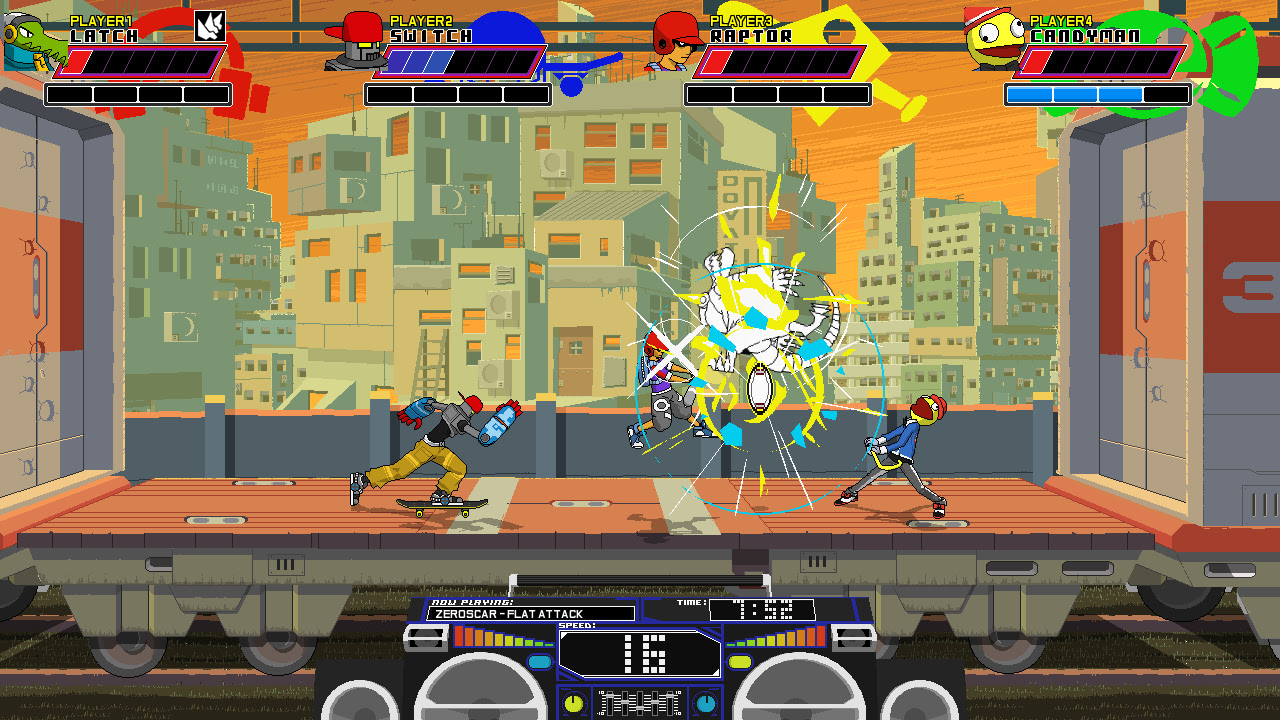 Review: Lethal League screenshot