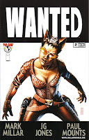 Wanted Comic Book Issue #2 Cover