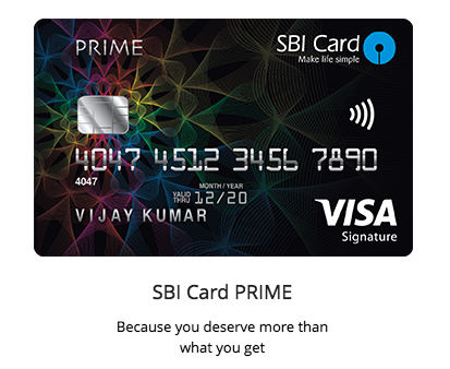 """SBI Card Launches """"PRIME"""" Credit Card – Review – CardExpert"""