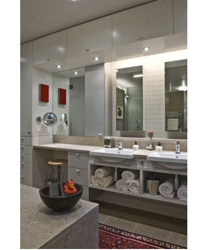 Contemporary Bathroom by Carey Dodson