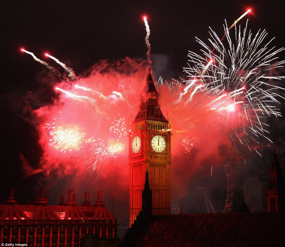 LONDON: Welcome to 2012! The show had an Olympian theme