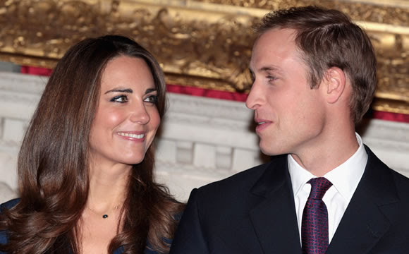 Britain's Prince William confirms he is engaged to his long-term girlfriend Kate Middleton (Getty Image)