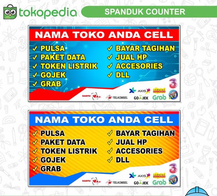 Gambar Spanduk Jual Pulsa Telkomsel - kumpulan contoh spanduk
