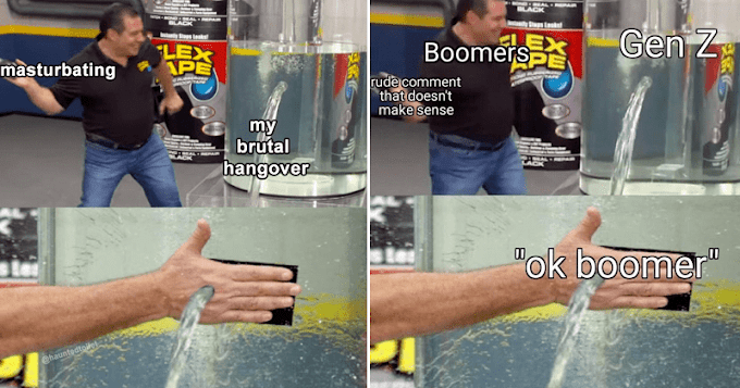 New Flex Tape Memes Are All About Bad Coping Mechanisms