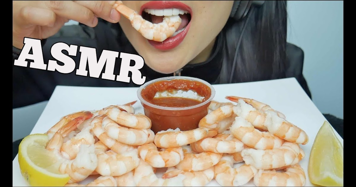 Music Videos Asmr Shrimp Cocktails Eating Sounds Sas Asmr Prior to becoming a youtube star, sas worked as a bartender in canada. music videos blogger
