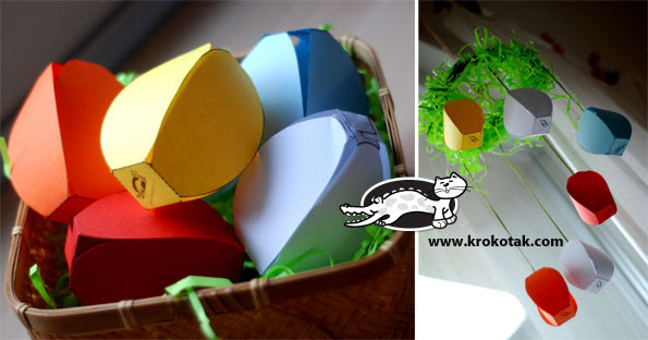 papel decoração de páscoa