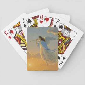 Angel of the Dawn Playing Cards