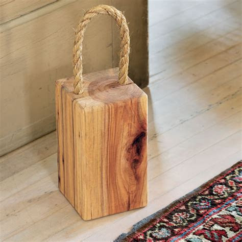 Recycled Wood Doorstop, All Gifts: Olive & Cocoa