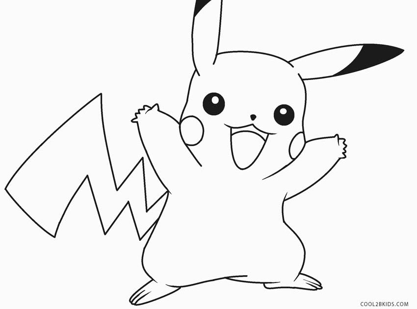 39 Tutorial Pikachu Detective Coloring Page With Video