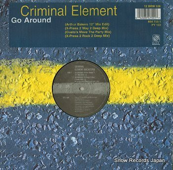 CRIMINAL ELEMENT ORCHESTRA go around