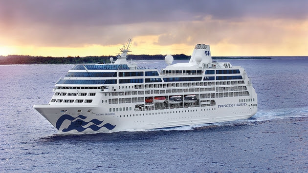 Enhanced Pacific Princess Emerges from Refurbishment