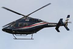 N10984 - 2010 build Bell 429, performing Demonstration flights at Barton