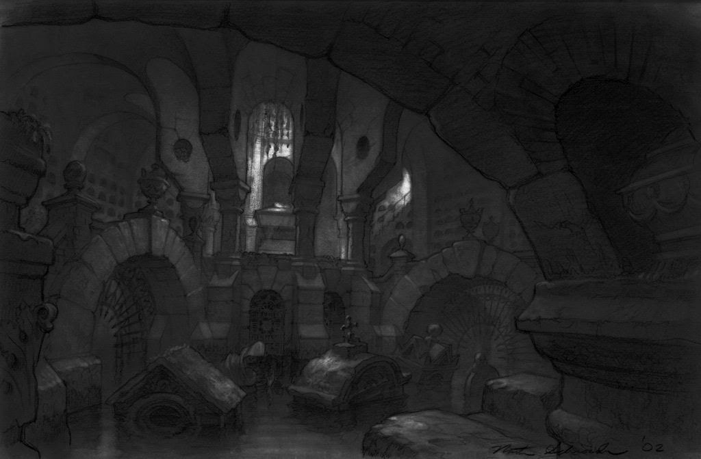 schroeder sketch of the flooded crypt i 39 ve had a lot of fun playing