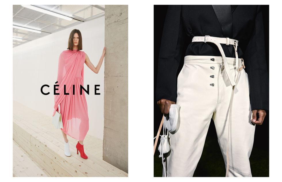 Model:Daniela Kocianova Photographer (left image):Zoë Ghertner Photographer (right image):Juergen Teller