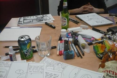 24 hour comics Tyneside Cinema Paperjam