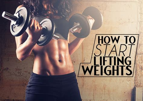 start lifting weights top fitness magazine