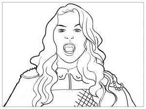 Dibujos Para Colorear Chica Vampiro Colorear Dibujos