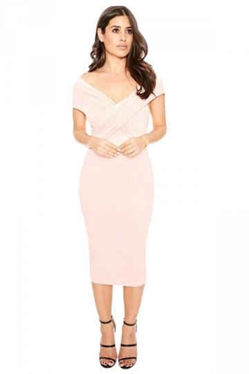 Stores cheap Asymmetric Neck Backless Plain Long Sleeve Bodycon Dresses hide stomach naples