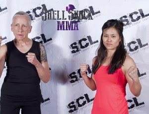 Ann Perez de Tejada senhora 68 anos MMA Laura Dettman