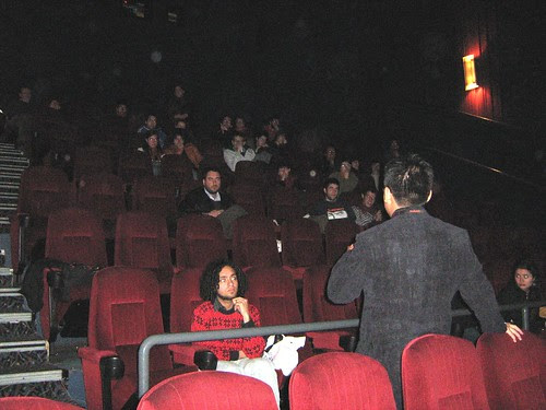 Q & A session after screening 2