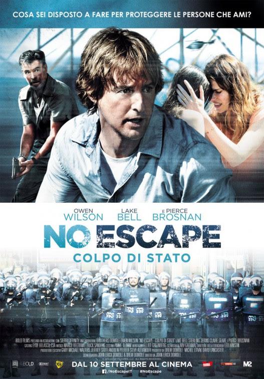 Resultado de imagen para no escape poster movie