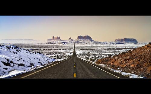 Monument Valley - US 163 Mile 13 - Utah por Dominique Palombieri