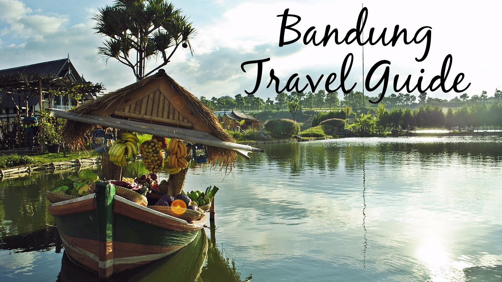 Traveling in Bandung, Indonesia