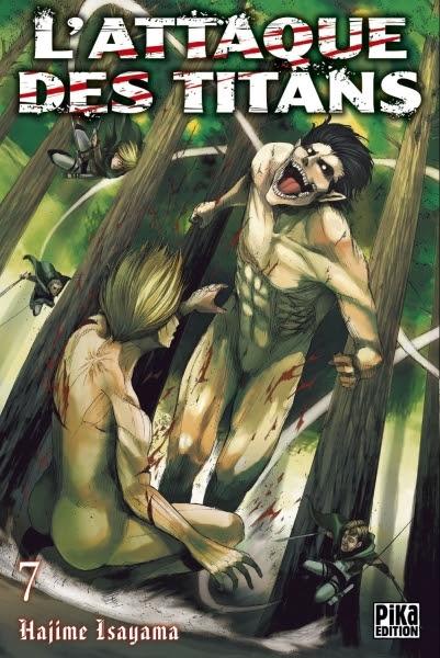 Couverture L'attaque des Titans, tome 07