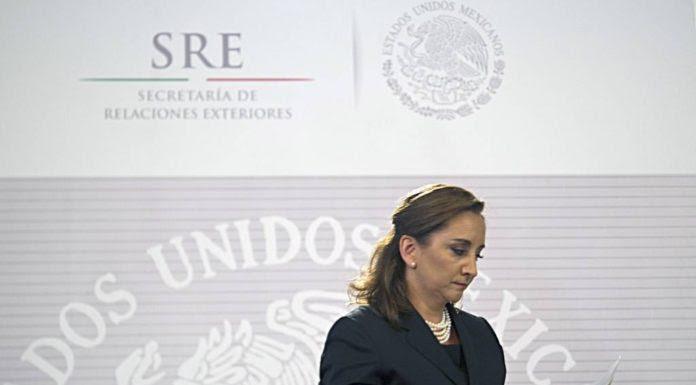 Nữ ngoại trưởng Mexico, Claudia Ruiz Massieu. (Hình: Getty Images/Yuri Cortez)