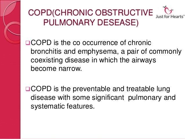 copd significant emphysema perokok o