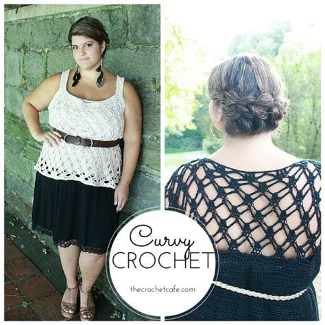 Curvy Crochet Patterns for Plus Size Women. I love these