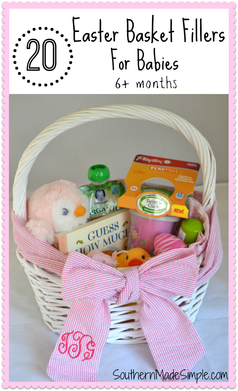 20 Easter Basket Fillers For Babies Southern Made Simple