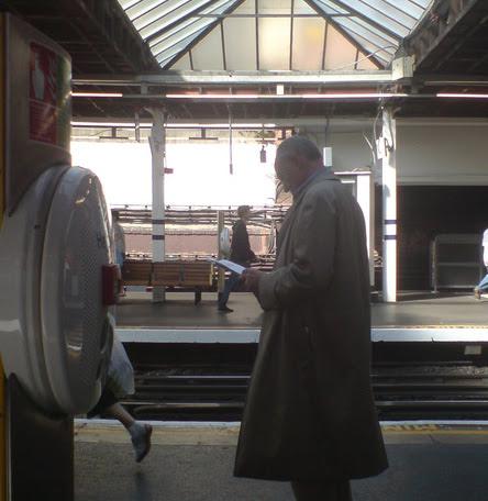 Ken Livingstone at Finchley Road taken by Toby Bryans