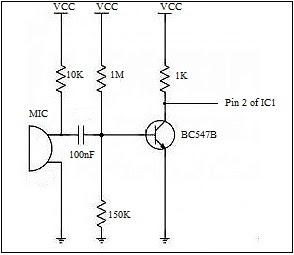 mic transistor amp