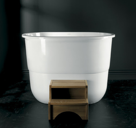 Japanese Sit Bath Tub - deep free standing soaking tub Sorrento by ...