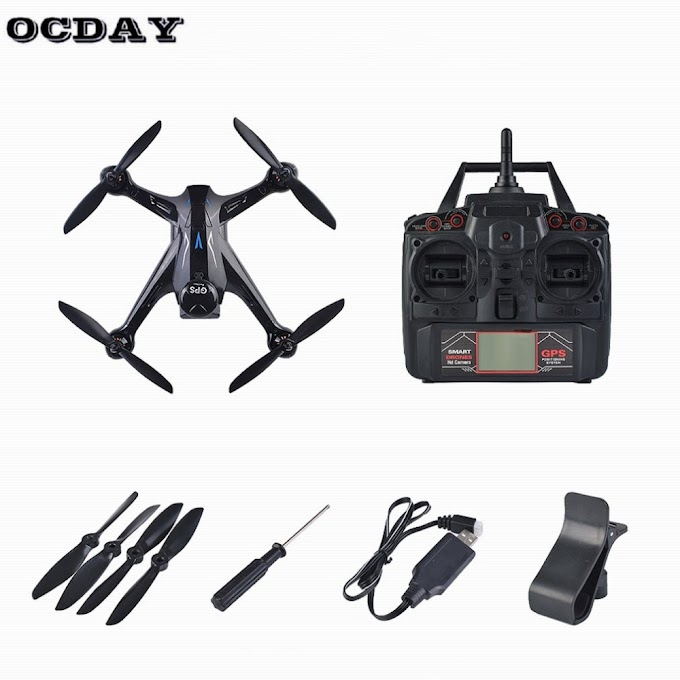 Professional RC Drone Ray X198 GPS Drone Four Axis Aircraft With Fixed Height 720P WiFi Camera Quadrocopter RC Drone