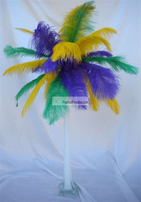 wholesale Mix/Sorted Color Ostrich Feather Centerpieces