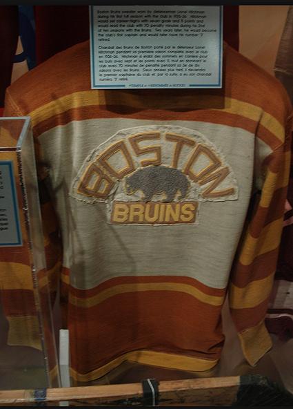 Boston Bruins 1926-27 jersey