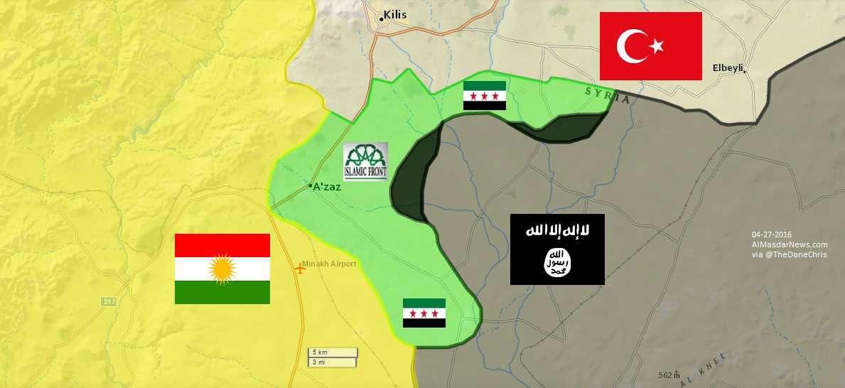 "Les terroristes ""modérés"" blackboulés au nord d'Alep"
