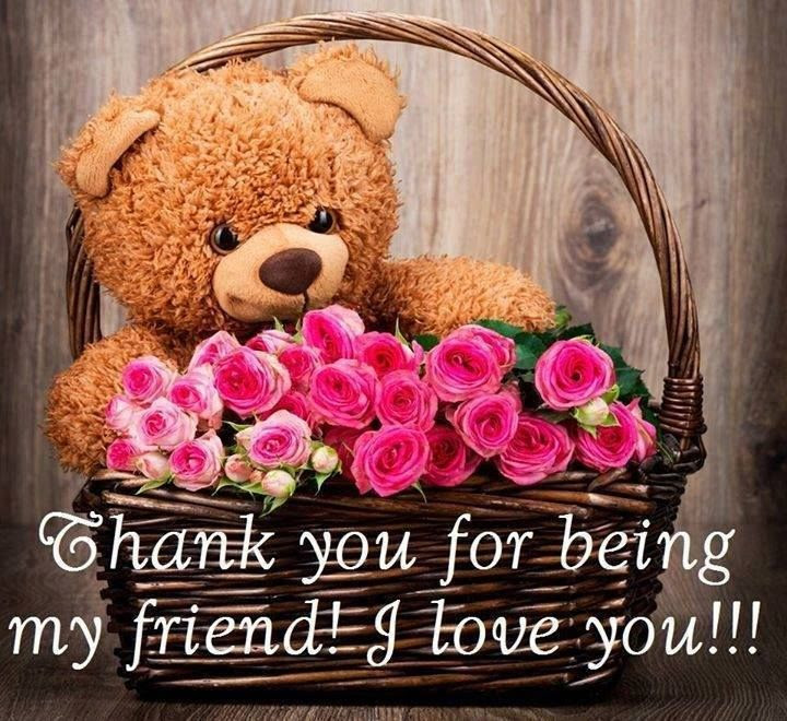 Thank You For Being My Friend Pictures Photos And Images For