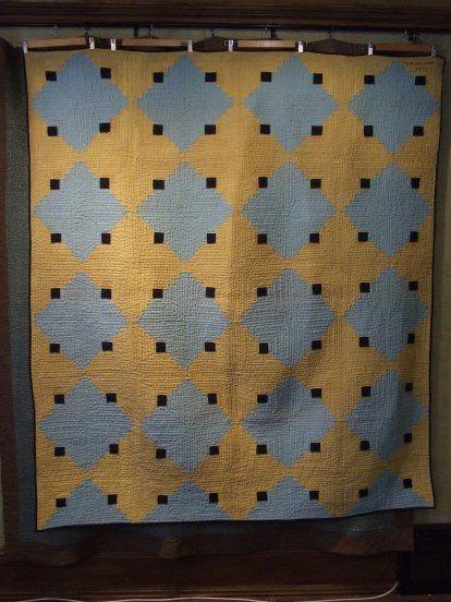 log cabin quilt by Tim Latimer