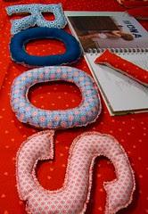 Bloomers en letters