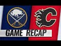 Eichel's OT winner powers Sabres past Flames, 4-3