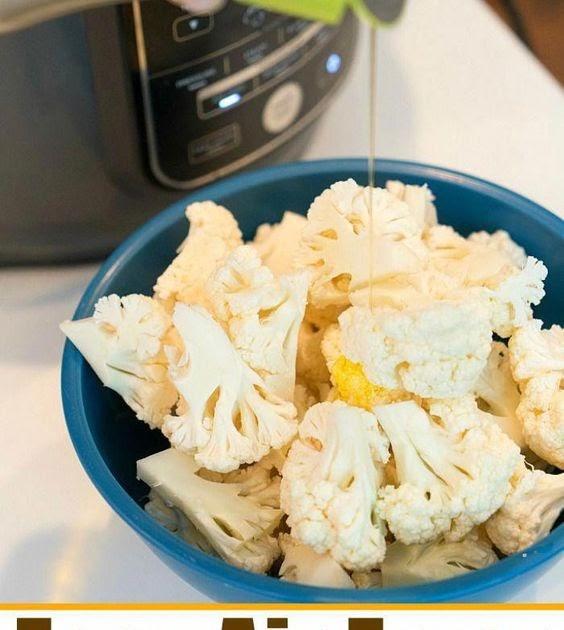 Low Carb Tender & Crispy Air Fryer Cauliflower - RESEP NOW