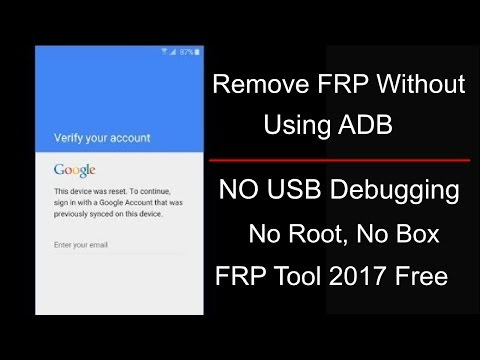 How to Enable USB Debugging Mode / ADB on FRP Locked Samsung Devices