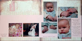 Tips For Creating A First Year Baby Album Scrapbooking Familiescom