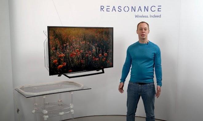 Российские инженеры из стартапа Reasonance разработали беспроводной телевизор