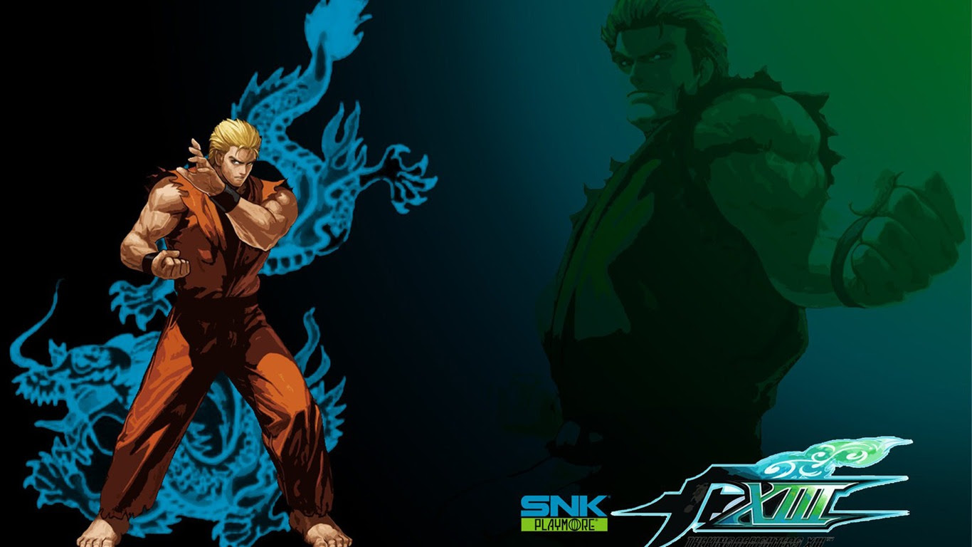 The King Of Fighters Xiii Wallpapers 2 1366x768 Wallpaper